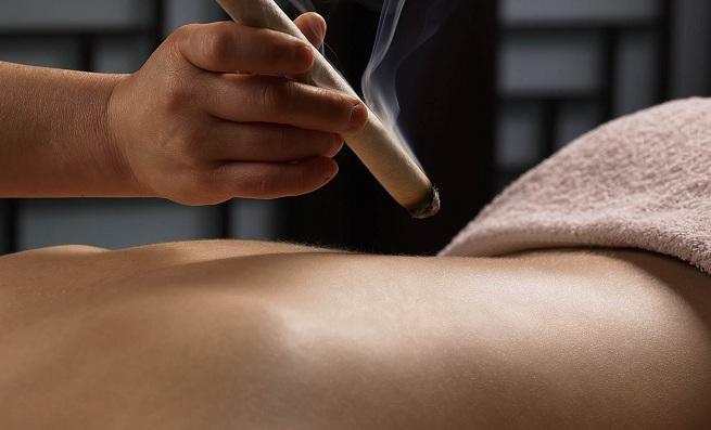 La Moxibustión, una de las técnicas de la Medicina China