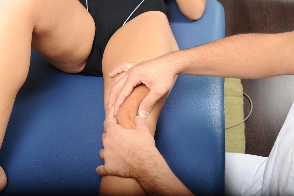 Fisioterapia al ginocchio