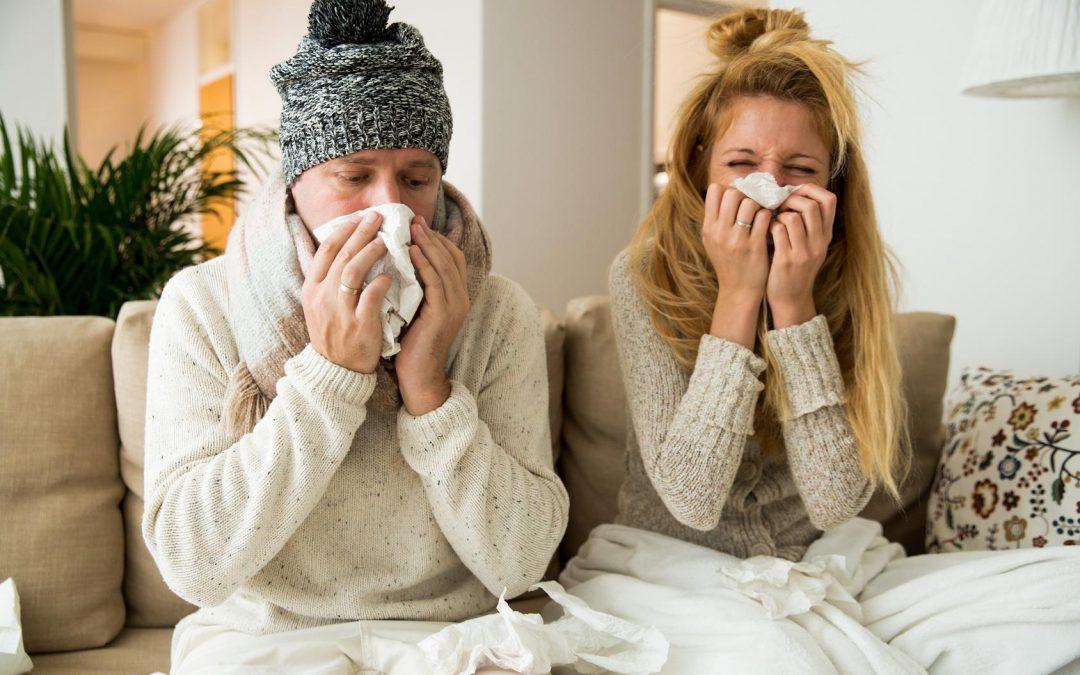 Algunos aún no pueden regresar a sus trabajos… Gripe, catarros y bronquitis
