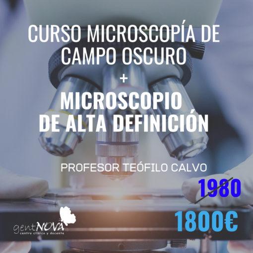 microscopia campo oscuro curso